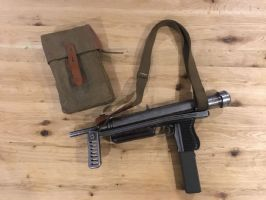 CZ MODEL 25 SUBMACHINE GUN